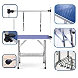 """Best Dog Grooming Tables - puppykitty 36"""" Adjustable Folding pet Dog Grooming Table Review"""