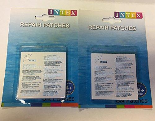 Intex Wet Set Vinyl Plastic Repair Patch (2) - Intex Wet Set