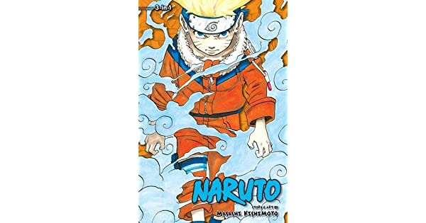 Amazon.com: Naruto: 3-in-1 Edition, Vol. 1 (Uzumaki Naruto ...