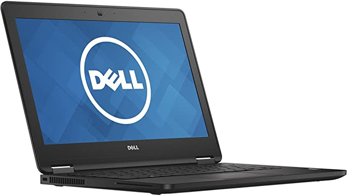 Dell Latitude E7270 UltraBook Screen Business Laptop (Intel Core i5-6300U, 8GB Ram, 256GB Solid State SSD, HDMI, Camera, WiFi, Smart Card Reader) Win 10 Pro (Renewed)