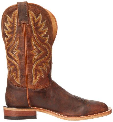 feca74a7845 Tony Lama Men's 7956 Americana Square Toe Western Boot