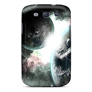High Quality Planets Abstract Case For Galaxy S3 / Perfect Case