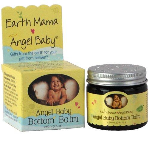 Earth Mama, Angel Baby Bottom Balm - 60 ml (2 fl oz) (Angel Baby Kit)