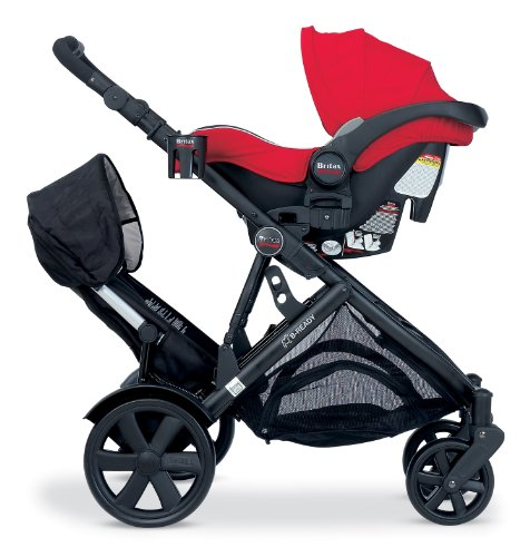 britax second seat for b ready stroller black import it all. Black Bedroom Furniture Sets. Home Design Ideas