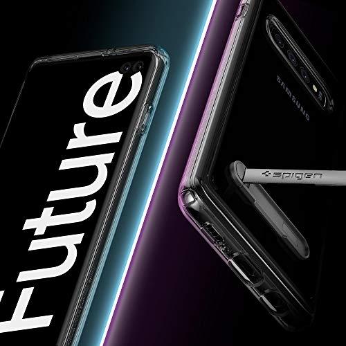 Spigen Ultra Hybrid S Designed for Samsung Galaxy S10 Plus Case (2019) -  Crystal Clear