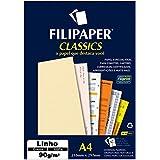 Filipaper 940, Papel para Impressão Reciclado Natural, A4, 180 g, Multicor, Pacote de 50