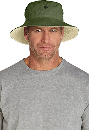 bb7e77835f2c7 Coolibar UPF 50+ Men s Reversible Bucket Hat - Sun Protective - Buy ...