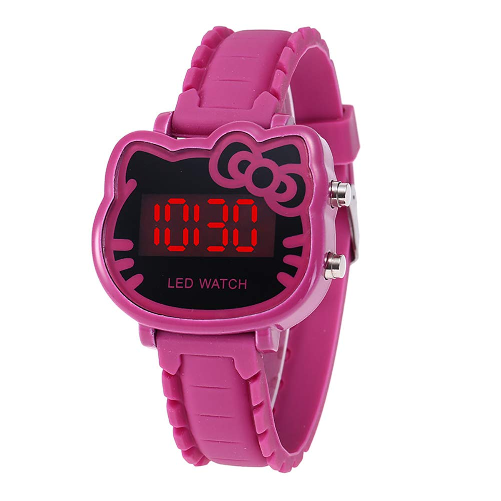 Amazon.com: Watches for Kids, Cartoon Girls Bracelet Watch, Hello Kitty Fashion Casual Dress Quartz Wristwatch, Female Mujer Relojes Kid Clock: Watches