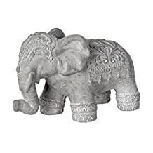 Tabletop Decorative Elephant Figure