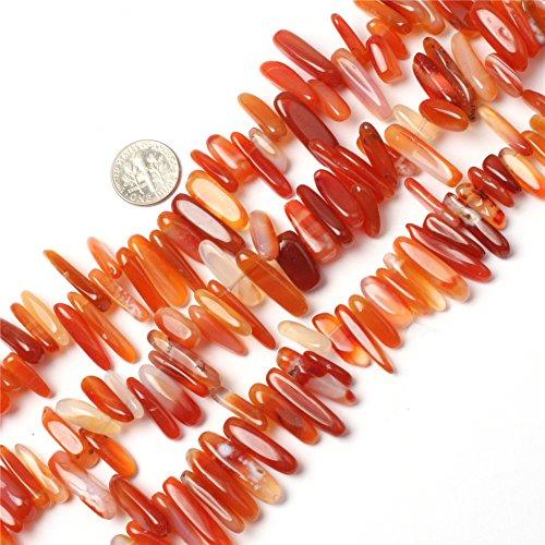 Red Cernelian Beads for Jewelry Making Natural Gemstone Semi Precious 18-20mm 15 JOE FOREMAN
