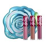 Lime Crime Velve-tins Liquid Matte Lipstick Mini Velvetine Trios (Blue Rose)