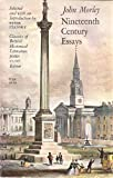 Nineteenth Century Essays, John Morley, 0226538486