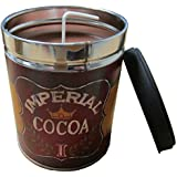 Our Own Candle Company Hot Chocolate Scented Candle in 13 Ounce Tin with a Vintage Imperial