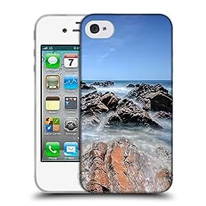 Super Galaxy Coque de Protection TPU Silicone Case pour // F00003791 Australia del Sur Stokes // Apple iPhone 4 4S 4G
