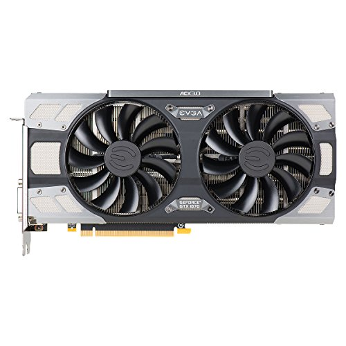 EVGA GeForce GTX 1070 FTW GAMING ACX 3.0, 8GB GDDR5, RGB LED, 10CM FAN, 10 Power Phases, Double BIOS, DX12 OSD Support (PXOC) Graphics Card 08G-P4-6276-KR by EVGA (Image #6)