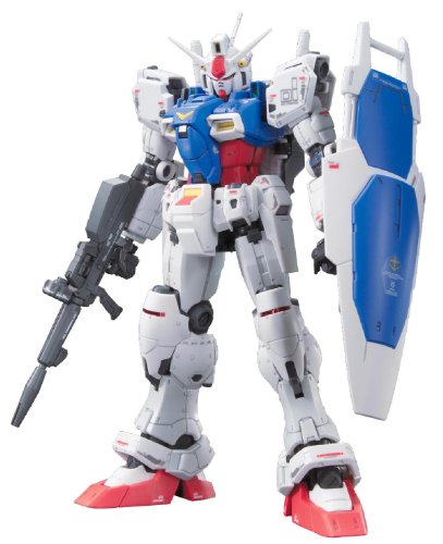 Bandai Hobby Real Grade #12 Gundam GP01 Zephyranthes Action Figure Model Kit, 1/144 Scale