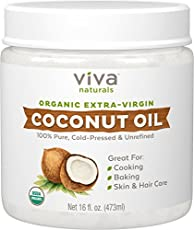 Viva Naturals Organic Coconut Oil gives you an easy, wonderful way to add flavor to your diet, and boost your skin and hair regime with the power of MCTs, immune boosters, and compounds found in coconuts.  The Viva Naturals Difference  Viva Naturals ...
