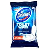 Domestos Fresh Fragranced Toilet Wipes, 40 Wipes