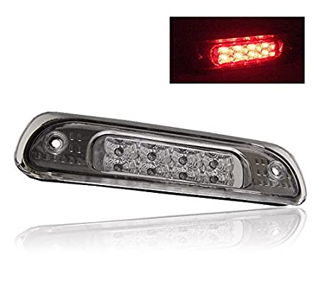 ZMAUTOPARTS Jeep Grand Cherokee LED Rear Third 3rd Brake Tail Light Lamp Red
