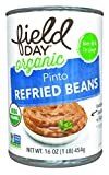 Field Day Vegetarian Refried Beans, 15 Ounce - 12 per case.