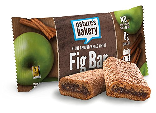 Nature's Bakery Whole Wheat Fig Bar, Apple Cinnamon, 12 Count Box