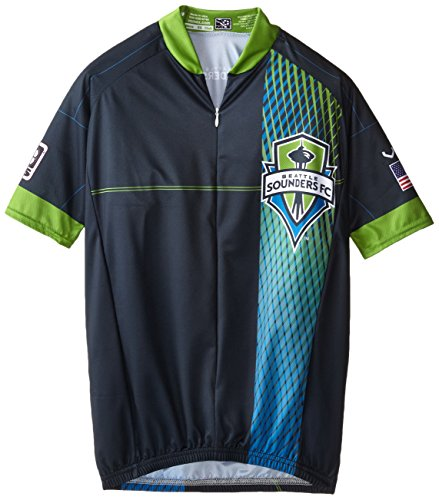 MLS Seattle Sounders Men s Primary Short Sleeve Vomax Jersey 7aaace464