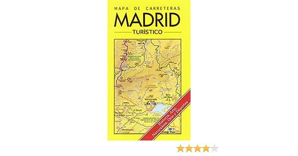 Mapa turístico de carreretas de la comunidad de Madrid: Amazon.es ...