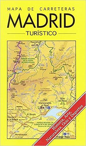 Mapa turístico de carreretas de la comunidad de Madrid: Amazon.es: Ediciones La Librería: Libros
