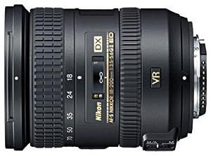 Nikon 18-200mm f/3.5-5.6G AF-S ED VR II Nikkor Telephoto Zoom Lens for Nikon DX-Format Digital SLR Cameras by Nikon