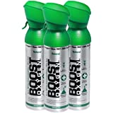 95% Pure Oxygen by Boost Oxygen - Portable Canister of Supplemental Oxygen - Increases Endurance, Recovery and Performance - 5 Liter Canisters - 3 Pack (Natural)