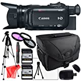 Canon XA35 Professional Camcorder 1003C002, Full Size Pro Tripod, 3 Piece Filter kit, 2X 16Gb SD Cards, Lens Cleaning Pen, SD Card Reader + Camera Bag, LCD Screen Protector and more