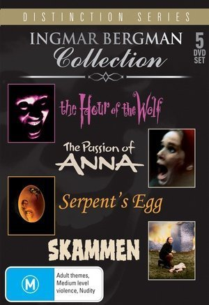 Ingmar Bergman Collection (Distinction Series) - 5-DVD Box Set ( Vargtimmen / Skammen / En passion / Das Schlangenei ) ( Hour of the Wolf / Shame / The Passion of Anna / The Serpent's Egg ) by Max von Sydow
