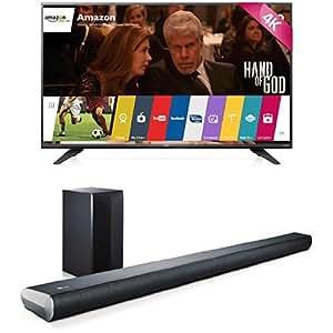 LG Electronics 55UF7600 55-Inch TV with LAS551H Sound Bar