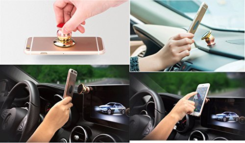New Point magnetic Golden car phone holder with Porsche Logo Cell Phone Mount Kit (Porsche)