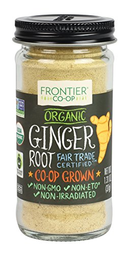 (Frontier Organic Powder, Ginger Root, 1.31 Ounce)