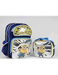 Despicable Me Minion 16 inches Backpack & Lunch Box - NEW Licensed - Bellow!
