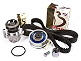 Evergreen TBK306AWPT 01-06 Audi A4 Quattro Volkswagen Passat 1.8 TURBO DOHC AWM, AMB Timing Belt Kit Water Pump
