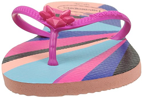 Havaianas Damen Flat Resort Pantoffeln Mehrfarbig (Light Pink 1139)