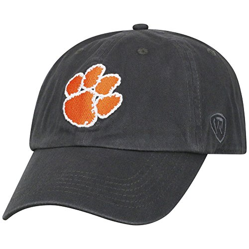 Clemson Tigers Hat Icon Charcoal (Hat Charcoal)