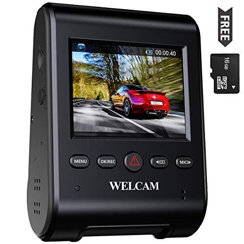 WELCAM Car Dash Cam 2.4