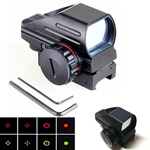 Green Red Dot Sight Reflex Scope 20mm Hunting TacticalHolographic 1x22x33 Reflex
