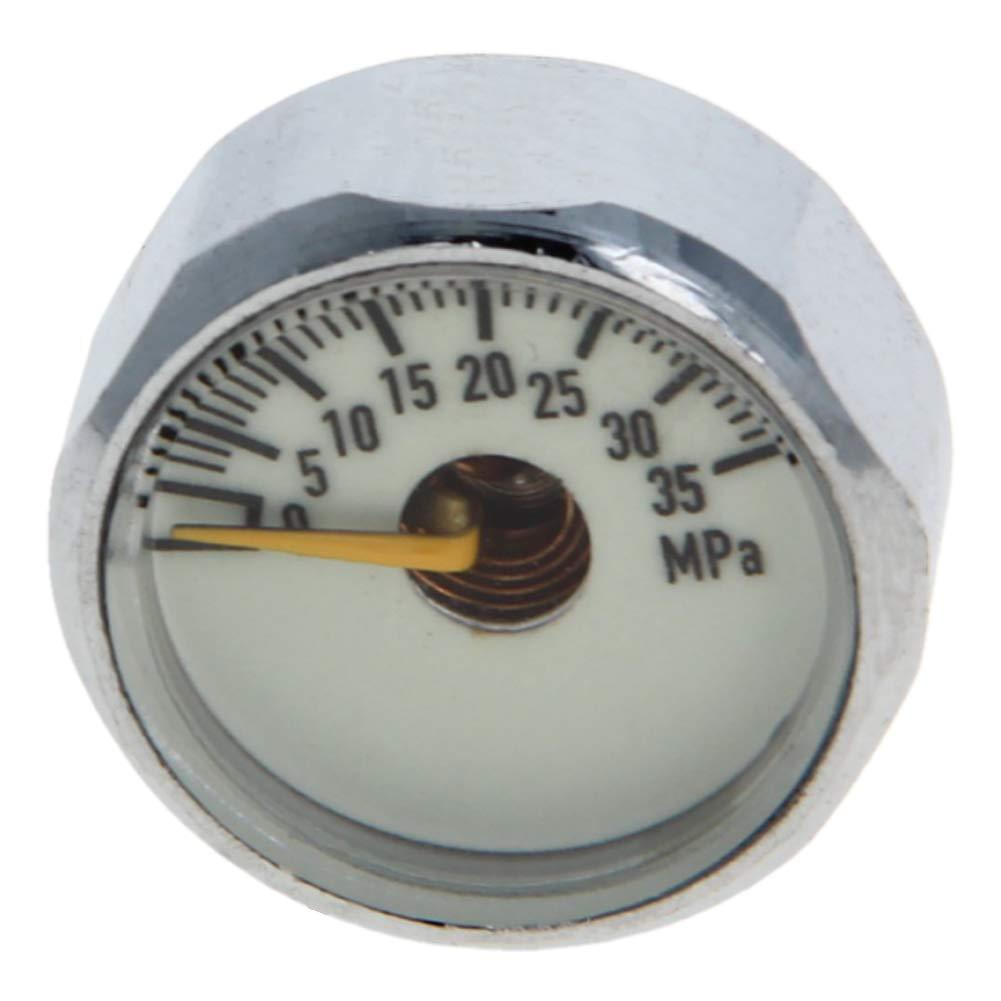 Othmro Pressure Gauge 10MPA M10x1 Pony Bottle Pressure Gauge Ideal for Scuba Diving 3PCS