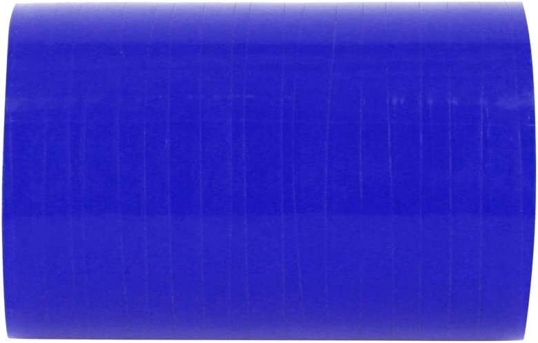 X AUTOHAUX 60mm ID Bleu Droit Silicone Coupleur Tuyau Intercooler Tube