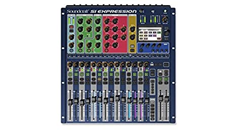 soundcraft SI Expression 1 66 Channels Azul – De Audio Licuadora ...