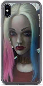 Arts Harley-Quinn Joker Shockproof Clear Case for iPhone 6/6s