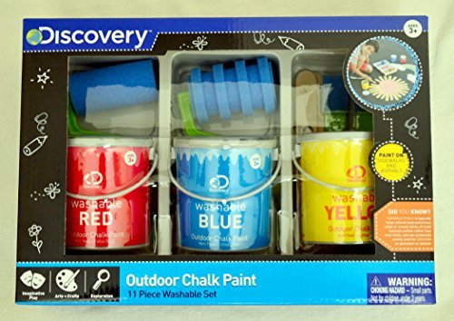 Discovery Sidewalk Outdoor Chalk Paint (Best Paint For Sidewalks)