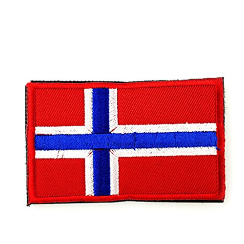 Armband Embroidered Tactical Patch National Flag Emblem Patch Norway