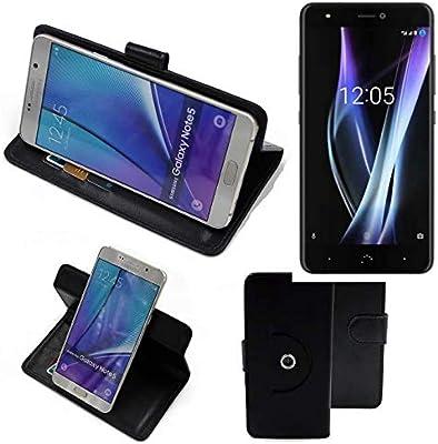 K-S-Trade 360° Funda Smartphone para BQ Aquaris X Pro, Negro ...