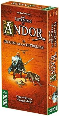 Devir-Las Leyendas de Andor: El Escudo de Las Estrellas Juego de ...