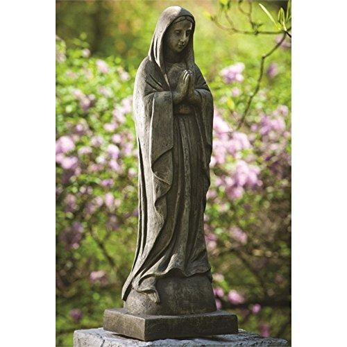 Alfresco Home 61-8215 Large Madonna Statuary, Pietra